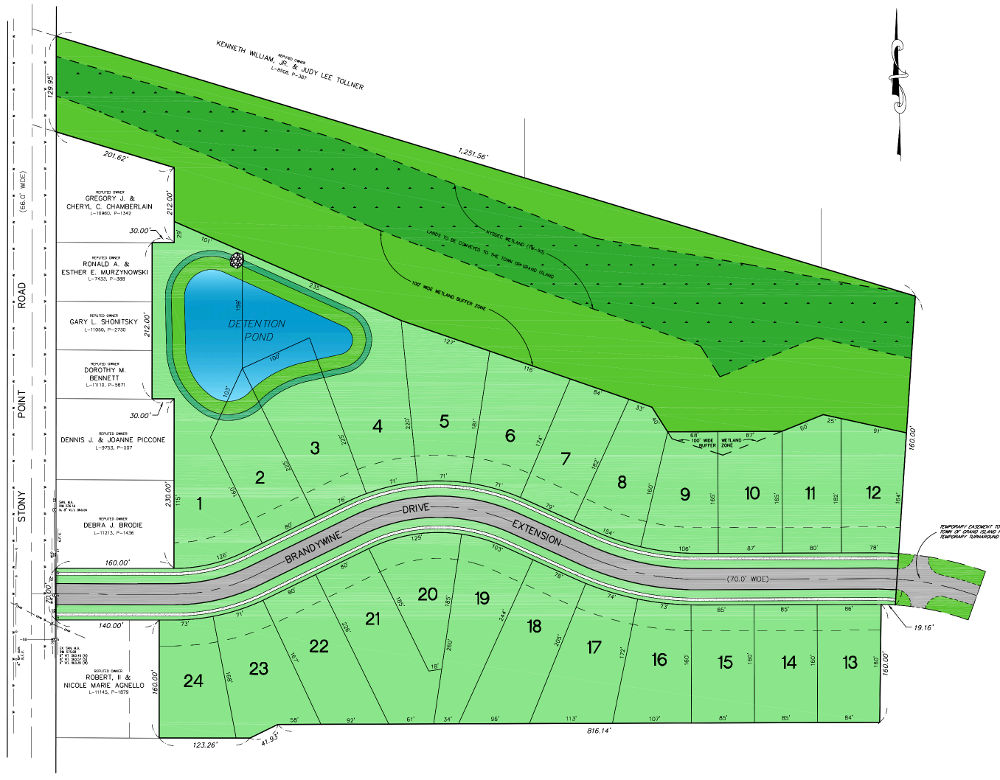 Woods Creek plan - lots